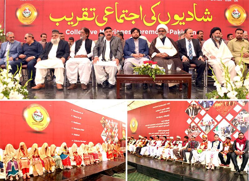 منہاج ویلفیئر فاؤنڈیشن کے زیراہتمام 23 شادیوں کی پُروقار اجتماعی تقریب