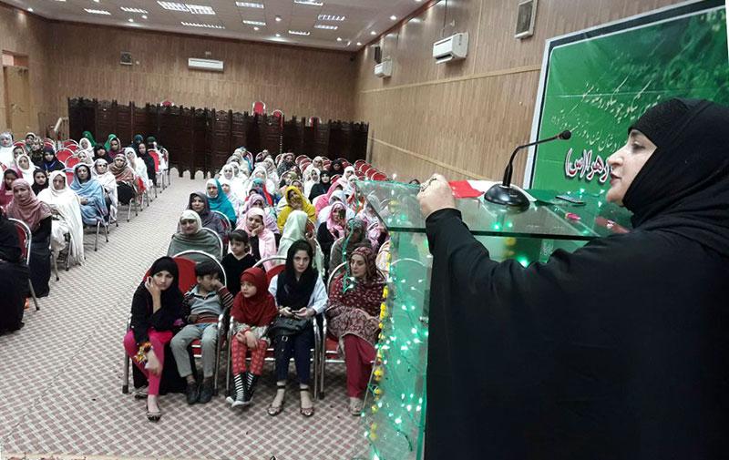 پشاور: سیدہ کائنات کانفرنس
