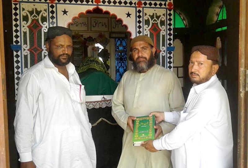 سانگھڑ: تحریک منہاج القرآن نواب شاہ ڈویژن کے ناظم عبدالستار چوھان کی پیر شہادت علی سے ملاقات