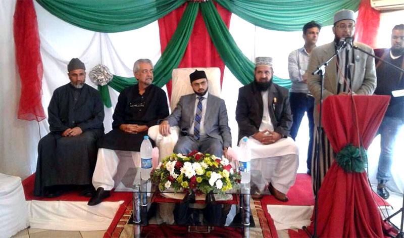 جنوبی افریقہ: جوہانسبرگ میں ڈاکٹر حسن محی الدین قادری کے اعزاز میں استقبالیہ