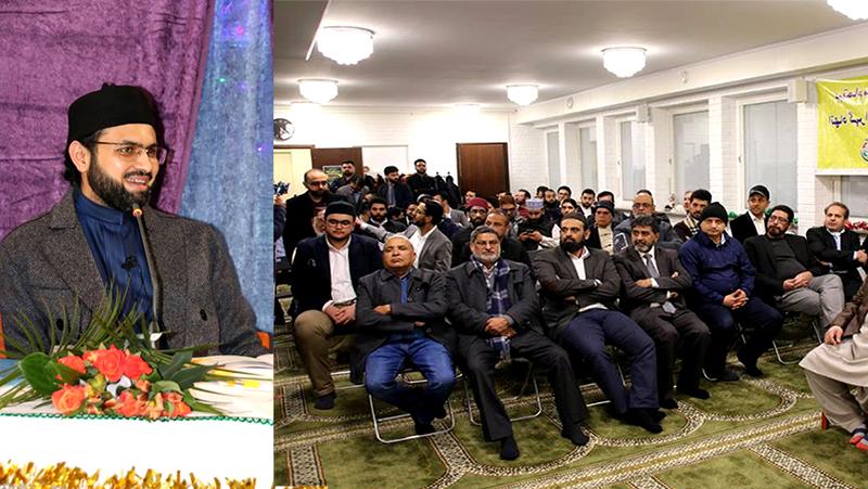 سویڈن: ڈاکٹر حسن محی الدین قادری کا ''امن کانفرنس'' سے خطاب