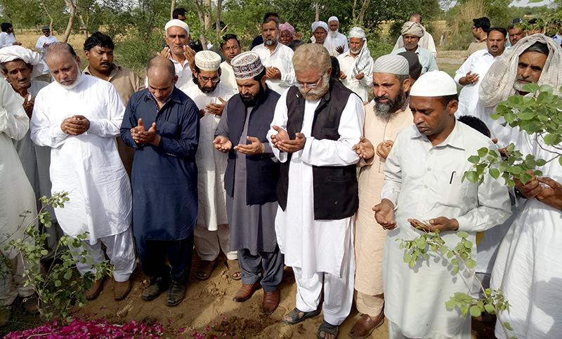 منڈی بہاؤالدین: منہاج القرآن ڈنمارک کے رہنما سجاد احمد ساہی کے والد محترم انتقال کر گئے