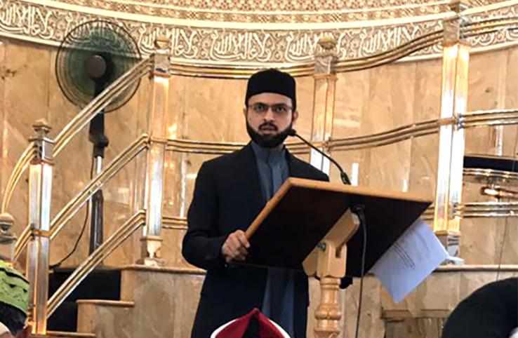 جنوبی افریقہ: ڈاکٹر حسن محی الدین قادری کا مسجد القدس کیپ ٹاون میں خطاب