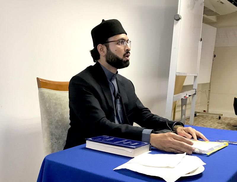 جنوبی افریقہ: ڈاکٹر حسن محی الدین قادری کا مدینہ انسٹی ٹیوٹ میں لیکچر