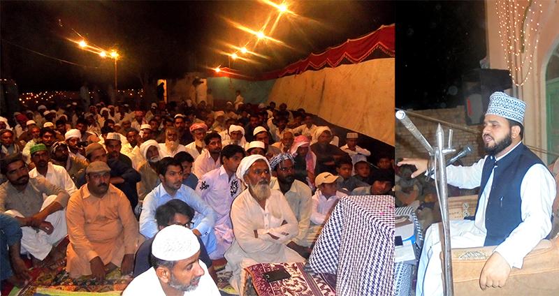 لودھراں: منہاج القرآن کے زیراہتمام سالانہ شب بیداری بسلسلہ شبِ برات