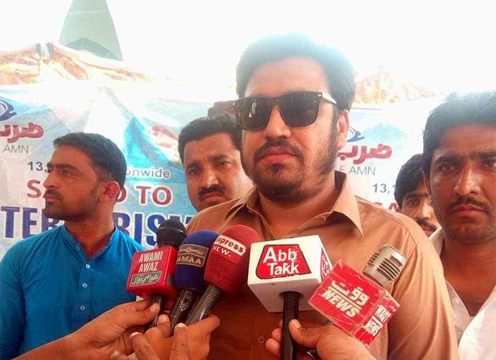 سندھ: منہاج القرآن یوتھ لیگ کے SAY No To Terrorism دستخطی کیمپس