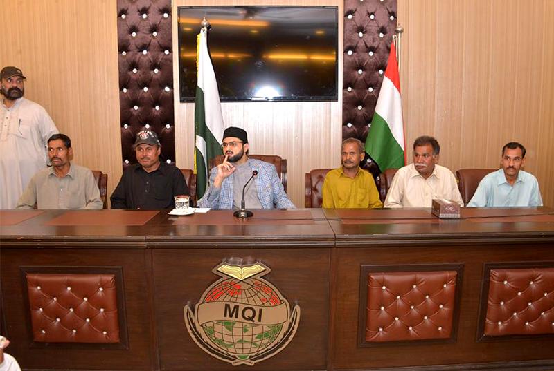 ڈاکٹر حسن محی الدین قادری کا منہاج القرآن سیکرٹریٹ کے سٹاف ممبرز سے خصوصی اجلاس