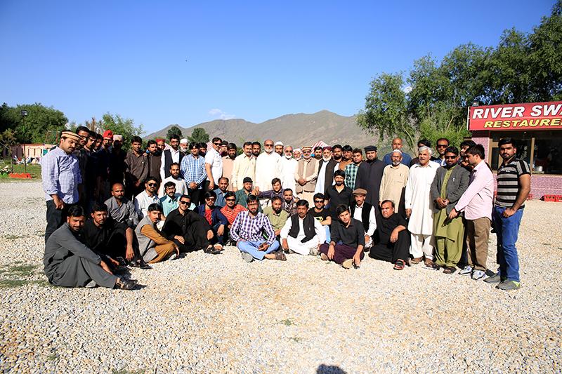 تحریک منہاج القرآن کےمرکزی سٹاف کا وادی سوات کا سالانہ ٹور