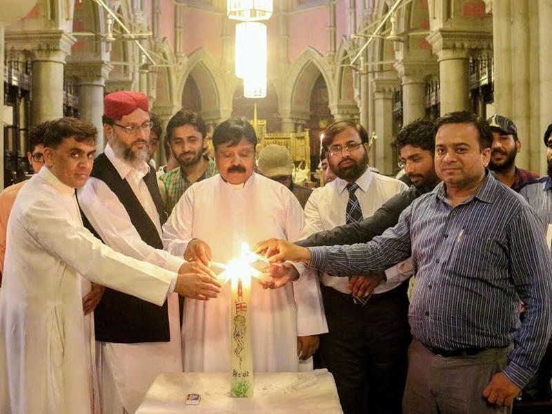 منہاج القرآن انٹرفیتھ ریلیشنز اور کیتھڈرل چرچ میں خصوصی تقریب، مانچسٹر خود کش دھماکہ کی مذمت