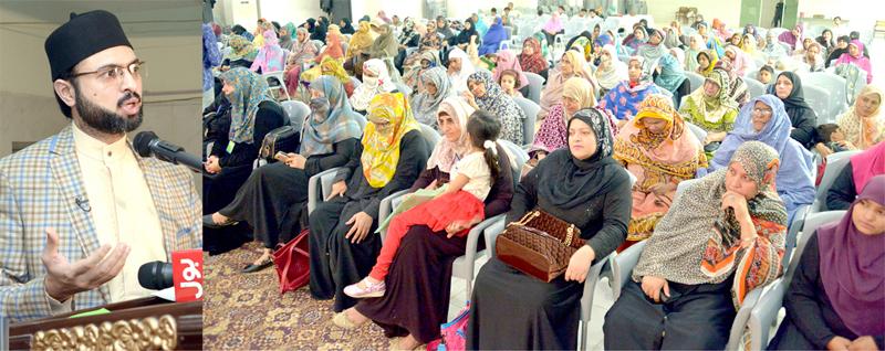 صاحب حیثیت افراد ضرورت سے زائد مال مستحقین کو لوٹا دیں: ڈاکٹر حسن محی الدین