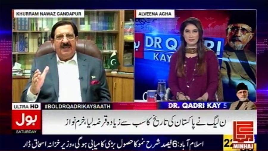 Khurram Nawaz Gandapur in 'BOL Dr. Qadri Kay Saath' - 27th May 2017 | BOL News