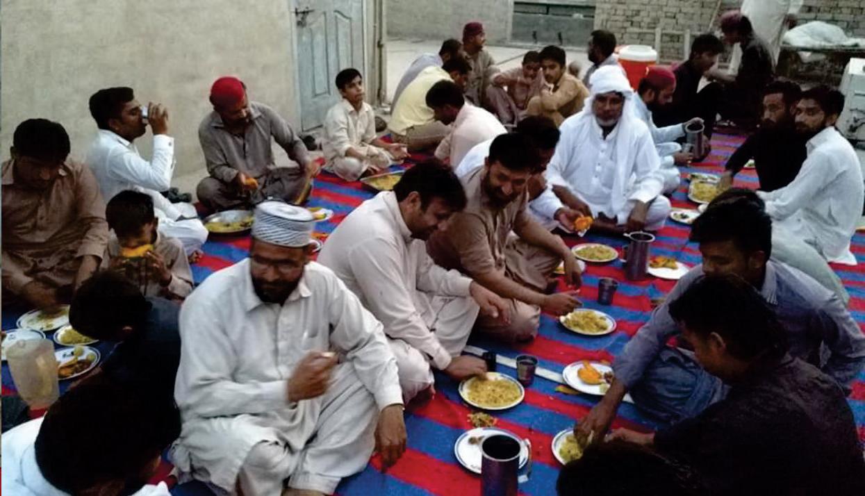 لودھراں: دروس عرفان کی کامیابی پر کارکنوں کے اعزاز میں افطار پارٹی