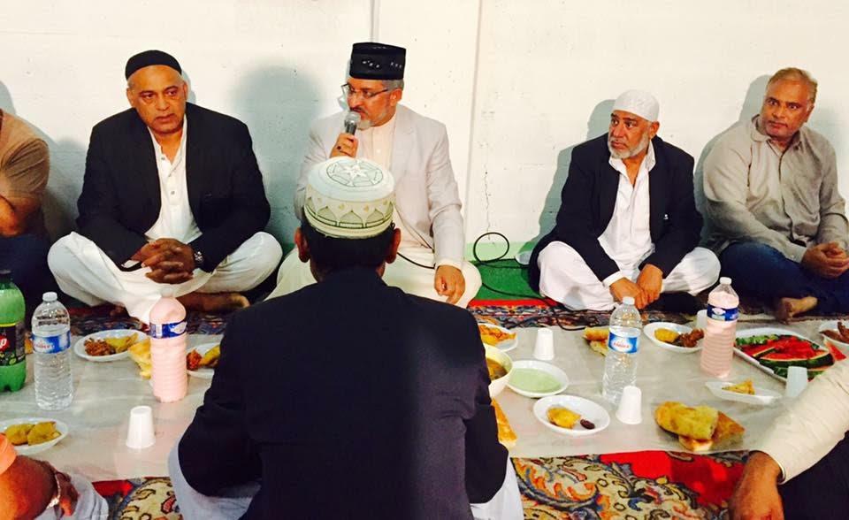 فرانس: منہاج القرآن کے تحت اجتماعی افطاری کا انعقاد