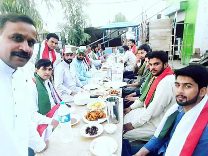 ہارون آباد: پاکستان عوامی تحریک کی نئی باڈی کے اعزار میں افطار پارٹی