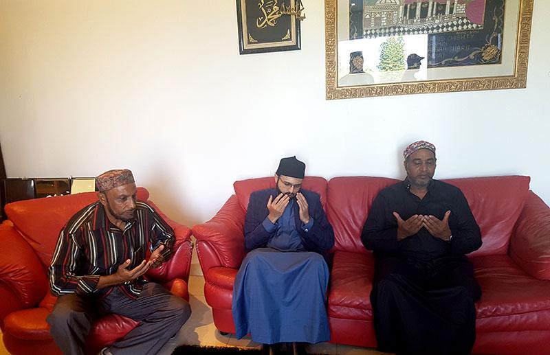 منہاج القرآن انٹرنیشنل ساوتھ افریقہ کے رہنماء حاجی فاروق آدم (ٹونی آدم) کی وفات پر تعزیت