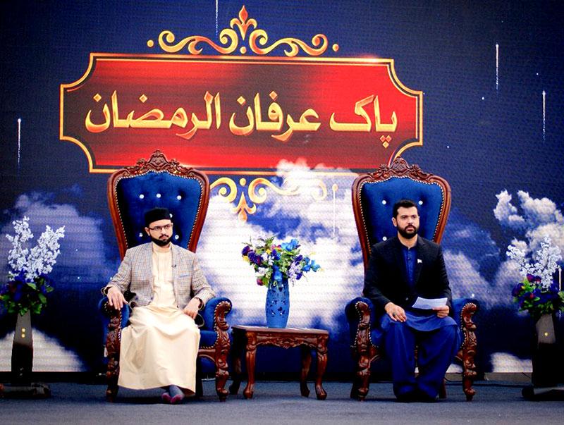 ڈاکٹر حسن محی الدین قادری کی پاک نیوز کی افطار ٹرانسمیشن میں شرکت