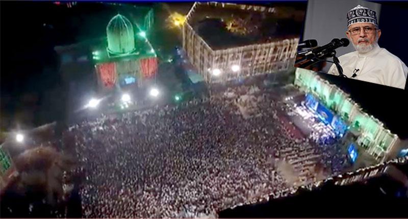 شہراعتکاف میں 27 ویں شب کا عالمی روحانی اجتماع 2017ء