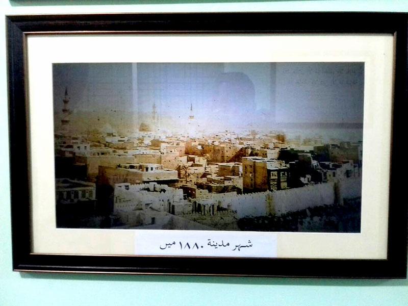 شہر اعتکاف میں مکہ اور مدینہ کے مقامات مقدسہ کی تصویری نمائش