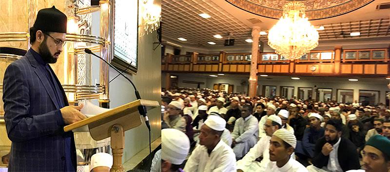 کیپ ٹاون: ڈاکٹر حسن محی الدین قادری کا معراج النبی کانفرنس میں خطاب