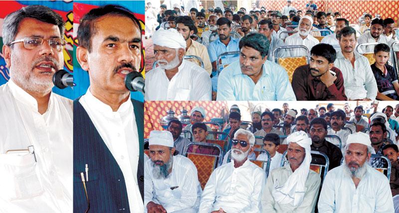 فیصل آباد: پاکستان عوامی تحریک و منہاج القرآن پی پی 64 کا ورکرز کنونشن