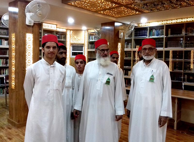 گوشہ درود کے شرکاء کا فرید ملت ریسرچ انسٹی ٹیوٹ کا دورہ
