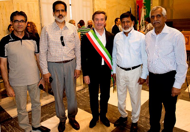 اٹلی: مچراتا کے وفد کی نئے سٹی مئیر کی تقریبِ حلف برداری میں شرکت