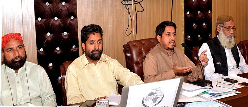 پاکستان عوامی تحریک اور تحریک منہاج القرآن لاہور کی  ایگزیکٹو کونسل کا اجلاس
