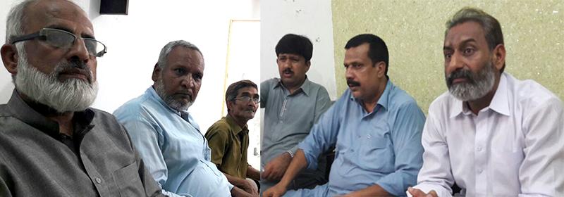 پاکستان عوامی تحریک ضلع سرگودھا کا اجلاس