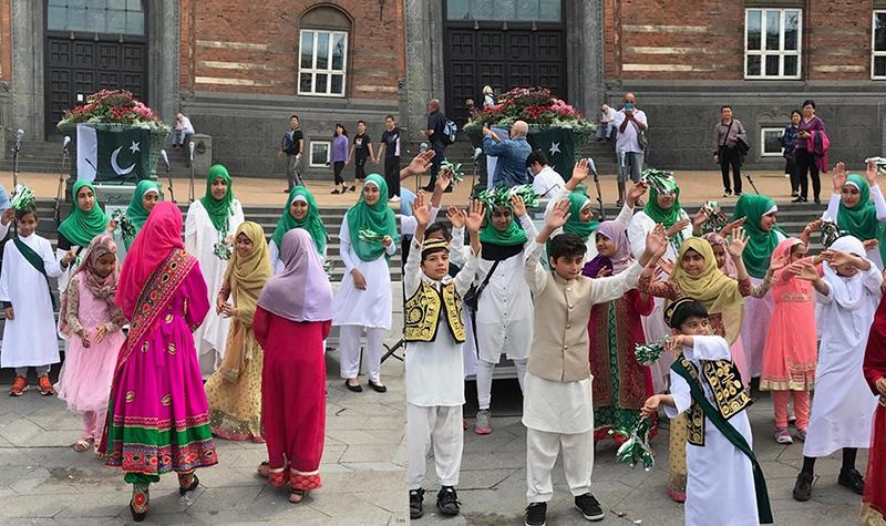 ڈنمارک: منہاج ویمن اور سسٹرز لیگ کا  ملٹی کلچرل فیسٹیول