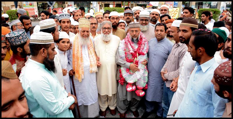 تحریک منہاج القرآن اتحاد امت اور باہمی رواداری کیلئے جدوجہد کر رہی ہے: سید ہدایت رسول شاہ قادری
