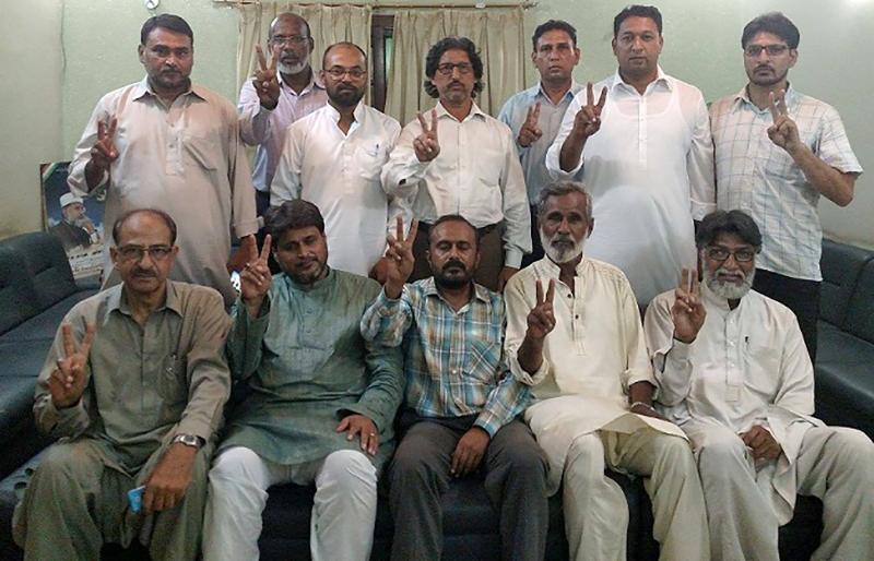 پاکستان عوامی تحریک کراچی کا اجلاس