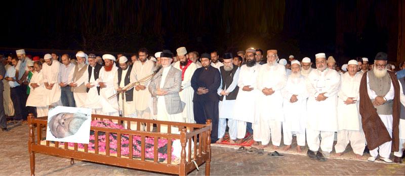 منہاج القرآن کے مرکزی امیر صاحبزادہ فیض الرحمن درانی انتقال کر گئے، ڈاکٹر محمد طاہرالقادری کا گہرے دکھ اور افسوس کا اظہار