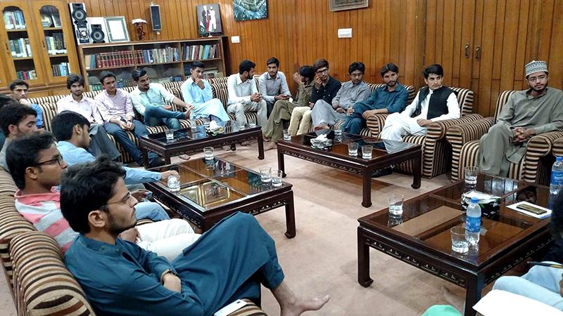 مصطفوی سٹوڈنٹس موومنٹ لاہور کا اجلاس