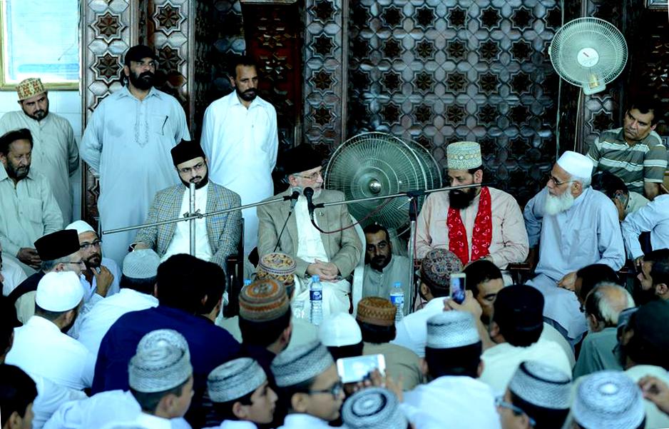 صاحبزادہ مسکین فیض الرحمن درانی کی رسم قل