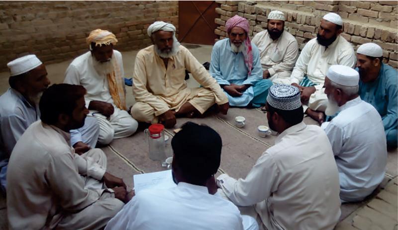 لودھراں منہاج القرآن حلقہ پی پی208 دھنوٹ کی تنظیم  نو