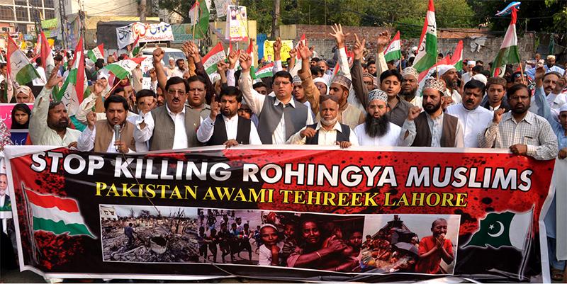 برمی فوج اور بدھوؤں کی دہشتگردی پر عالمی برادری خاموش کیوں ہے؟ عوامی تحریک