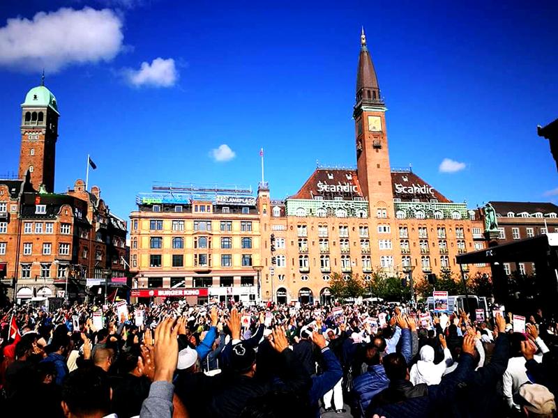 روہنگیا مظالم پر عالمی خاموشی، اسلام کے خلاف کھلی دہشت گردی ہے۔ عوامی تحریک ڈنمارک