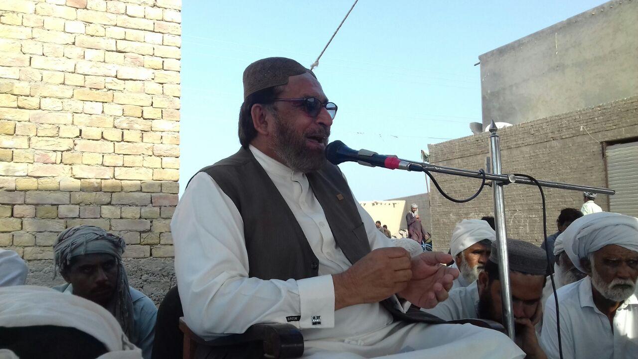 فاضل پور: قل خوانی میں سردار شاکر مزاری کی شرکت