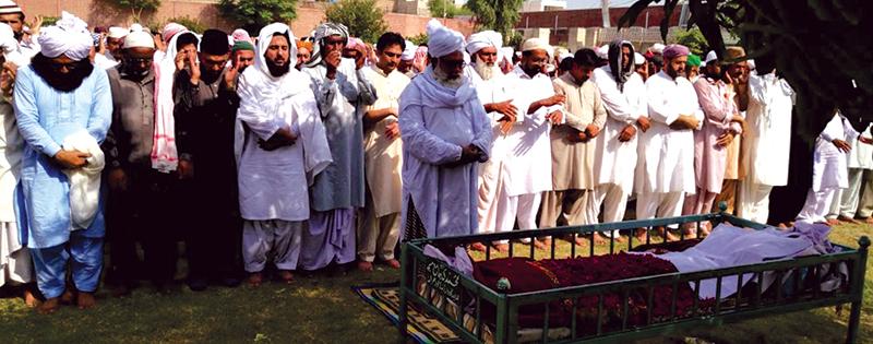 منہاج القرآن لودہراں کے سرپرست پیر سید فضل حسین شاہ انتقال کر گئے