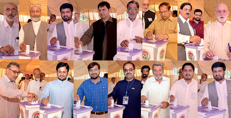 عوامی تحریک کے انٹر پارٹی انتخابات، سندھ سے تعلق رکھنے والے قاضی محمد زاہد مرکزی صدر منتخب