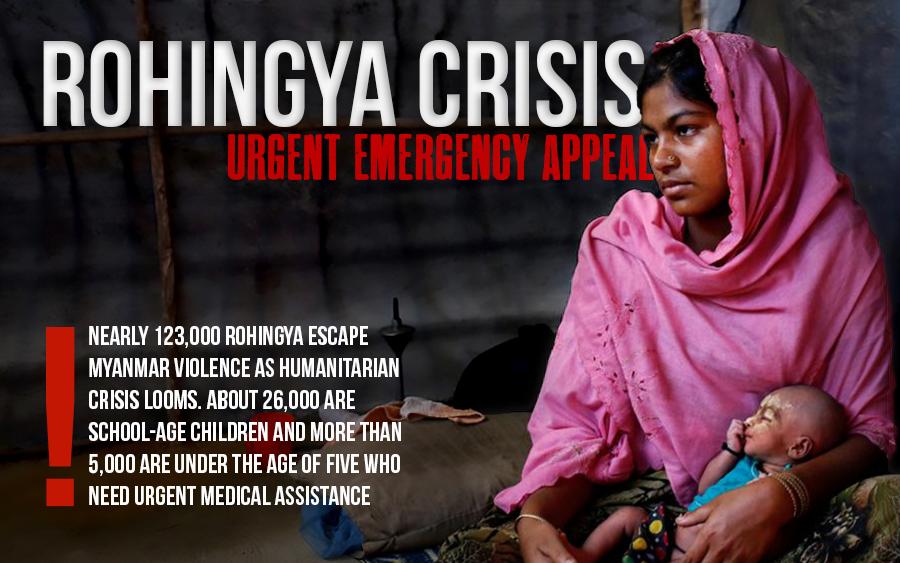 Rohingya Crisis – Urgent Appeal