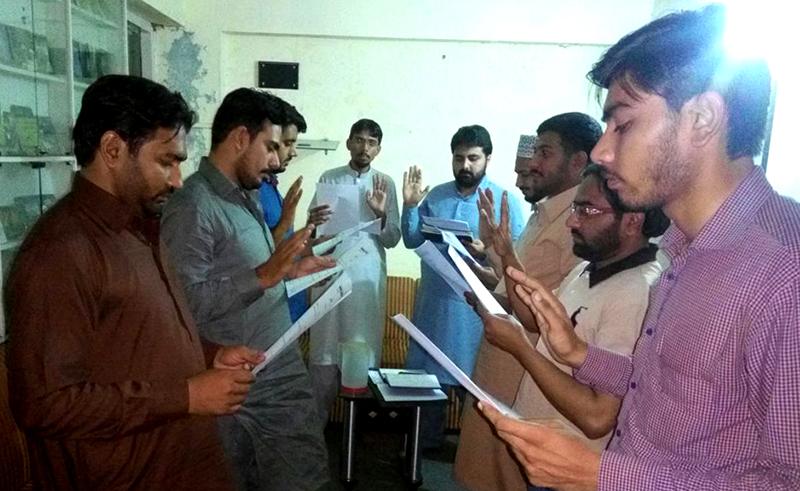 یوتھ لیگ راولپنڈی کی نو منتخب باڈی کی حلف برداری