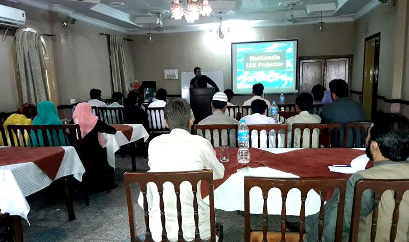 جہلم: دینہ میں یوتھ لیڈرشپ کیمپ