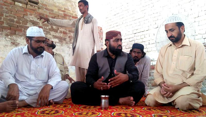 سرپرست تحریک منہاج القران لودھراں سیدفضل حسین شاہ بخاری کی وفات پر تعزیت