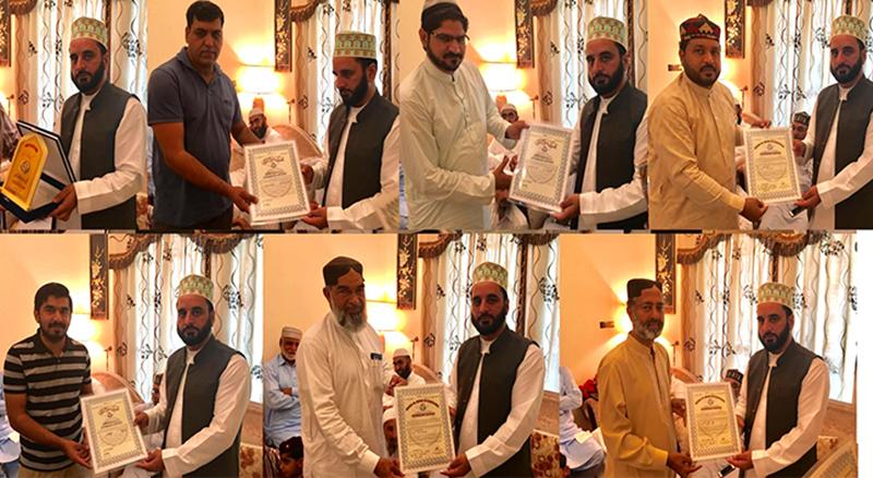 علامہ آصف اکبر میر قادری کا دورہ یو اے ای