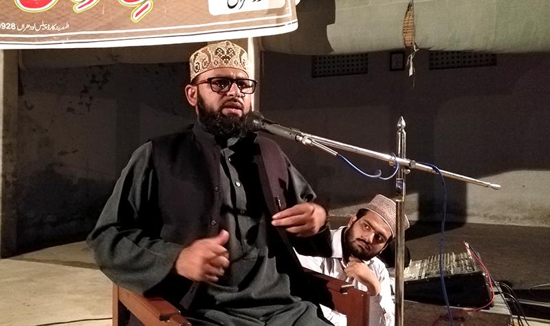 لودھراں: علامہ محمد احسان رضوی کا درس عرفان القرآن
