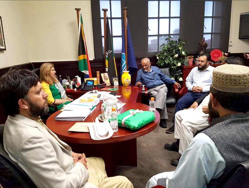 جنوبی افریقہ: منہاج القرآن انٹرنیشنل نٹال کے عہدیداروں کی ڈپٹی میئر ڈربن سے ملاقات