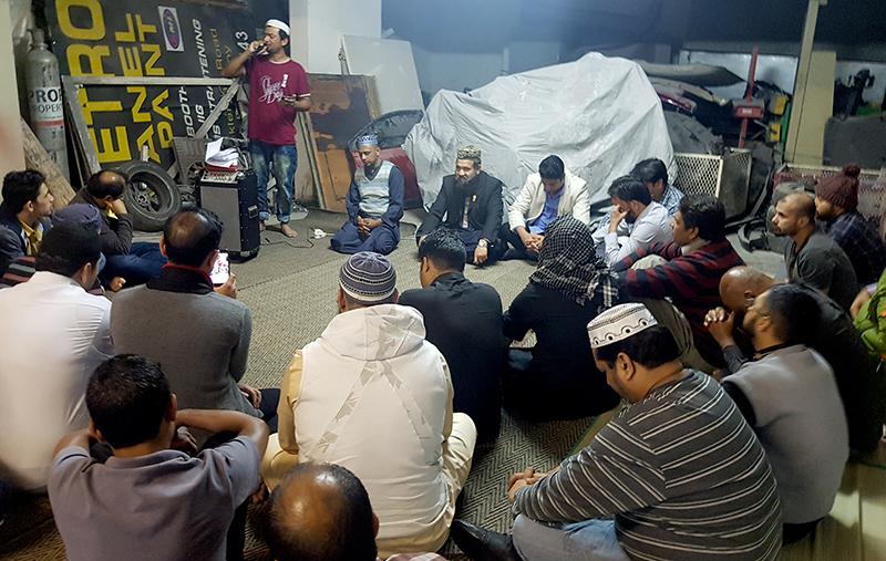 جنوبی افریقہ: شہادت امام حسین کانفرنس میں علامہ رفیق طاہر نقشبندی کا خطاب