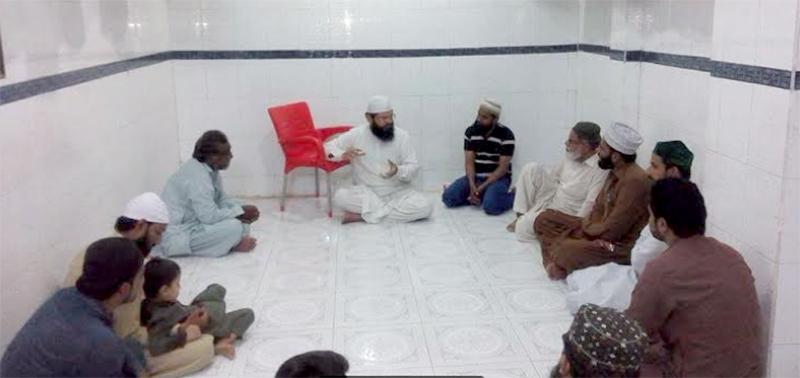منہاج القرآن حیدرآباد کے وفد حضرت پیر علامہ عرفان چشتی سے ملاقات