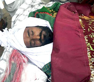 عوامی تحریک لیہ کے آرگنائزر صاحبزادہ محمد اکرم شاہین انتقال کر گئے